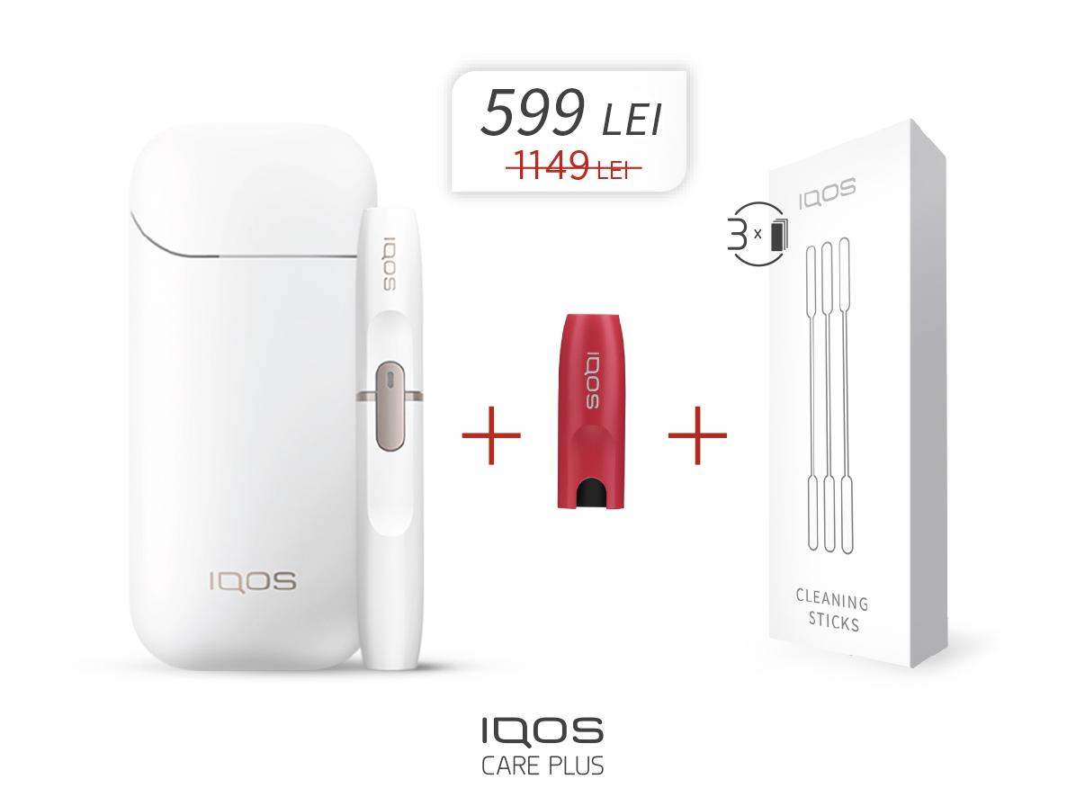 Oferta speciala pentru IQOS 2.4 Plus