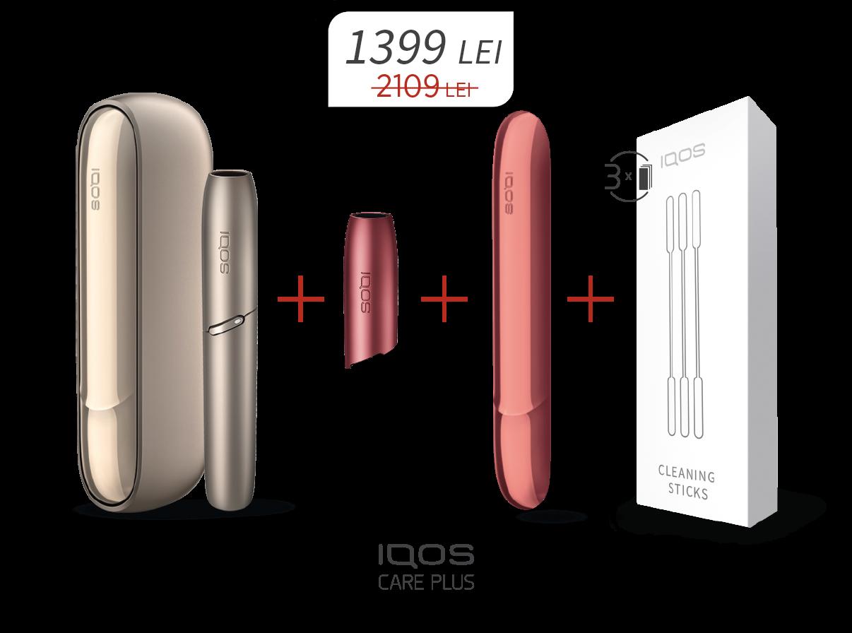 Oferta speciala pentru IQOS 3.0