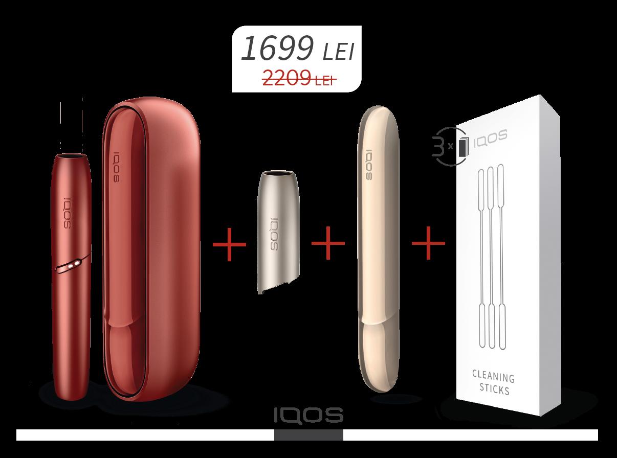 Oferta speciala pentru IQOS 3 DUO
